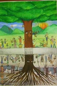 「樹與我」校園繪圖徵選作品