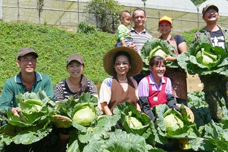 慈心基金會輔導西寶聚落有機轉型農友
