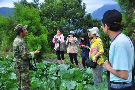 2014/6/18~19「太魯閣國家公園西寶聚落有機輔導轉型成果」媒體朋友參訪活動
