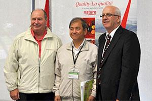 里仁與合作廠商,遠赴加拿大貿易訪問