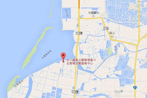 台江國家公園裡面是台南著名的七股潟湖