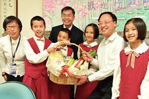 行政院長江宜樺參訪福智教育園區