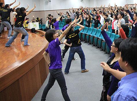 中區青年營健康律動時間