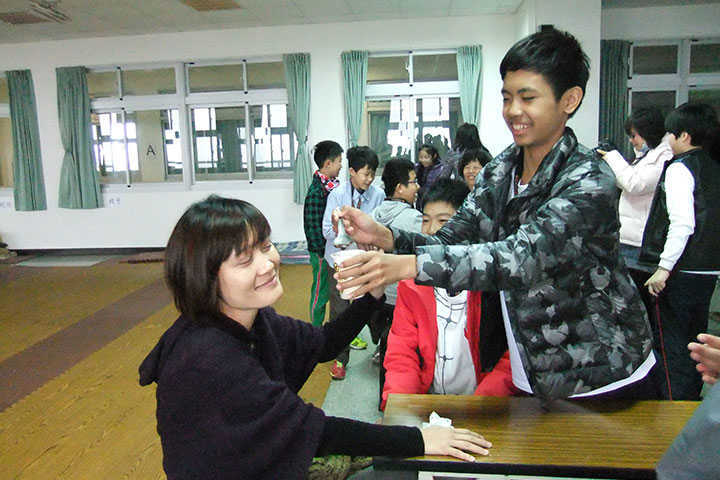 謙謙君子青少年國際營的親子角色互換