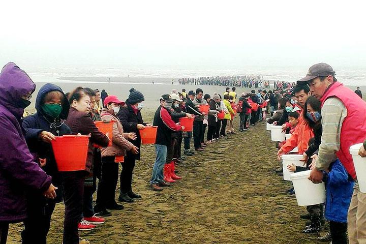 上千人齊聚,齊心響應永續海洋生態