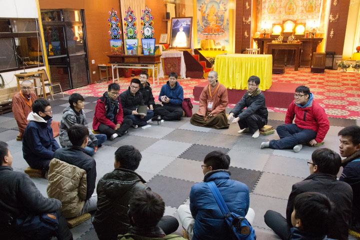 福智2016大專青年鳳山寺寺院參訪活動