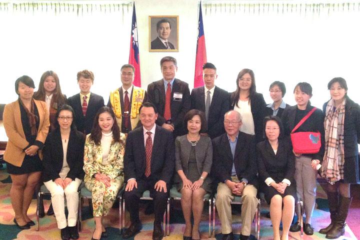 台灣NGO團體代表合影