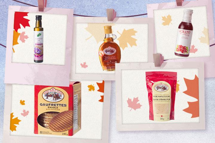多款加拿大楓味商品