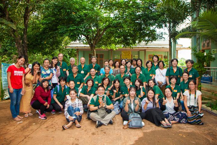 福智醫療義診團,深入緬甸北部
