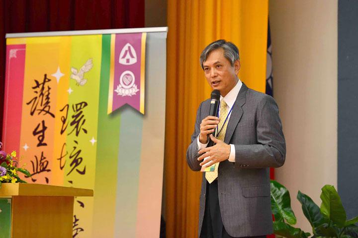 福智佛教基金會執行長・慈心有機農業發展基金會董事長賴錫源,主講「當代護生的關鍵與抉擇之道」