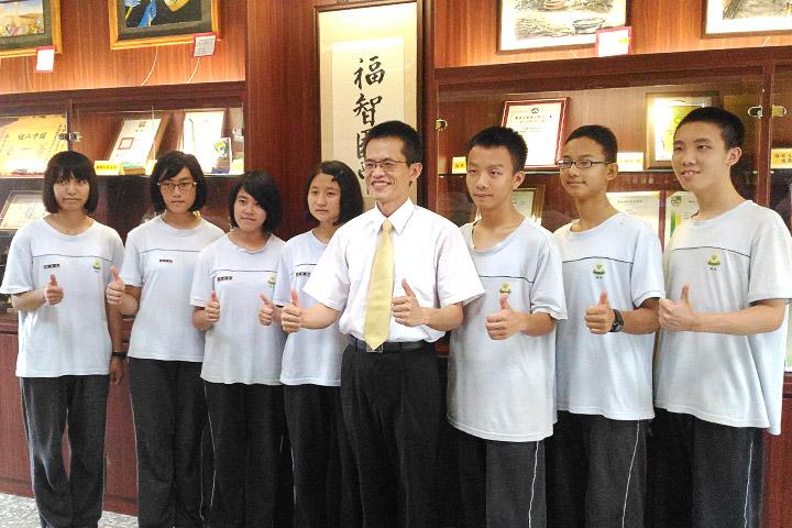 福智國中參加教育會考,7位同學榮獲5A++殊榮