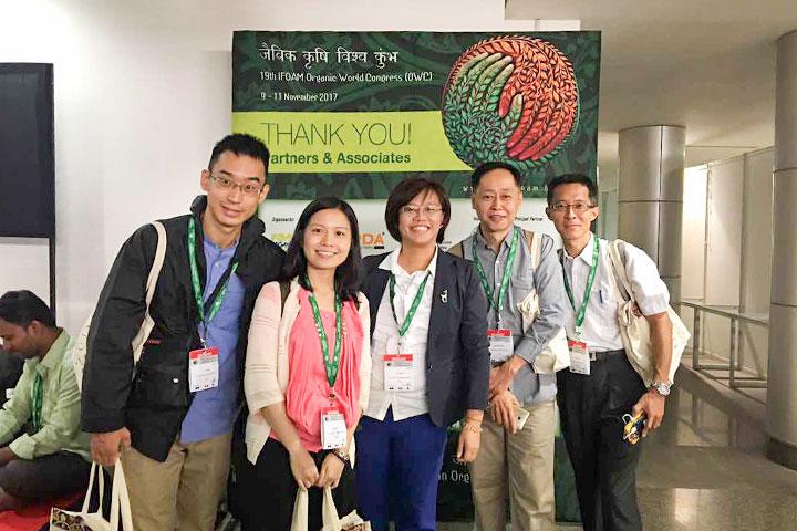 慈心基金會赴印度,參加 2017 有機世界大會