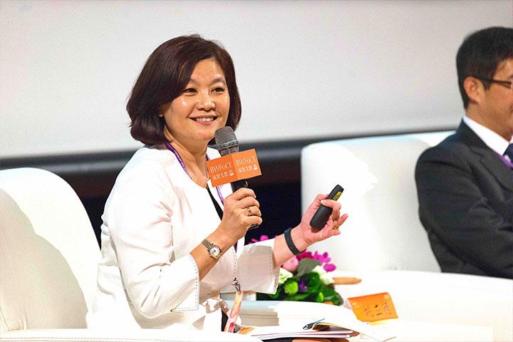 前教育部政務次長林思伶談論「面對變動環境,心靈教育提升」
