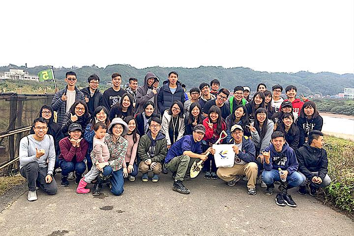 臺北大學生態通識課程師生