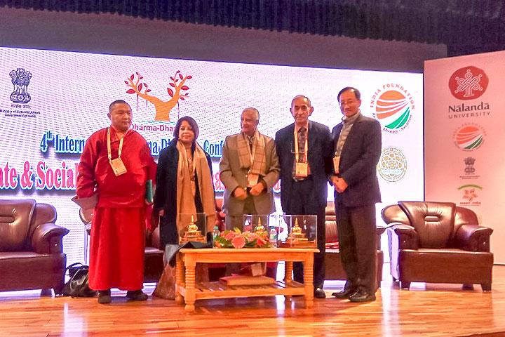 福智文教基金會赴印度王舍城,參加2018國際正法研討會