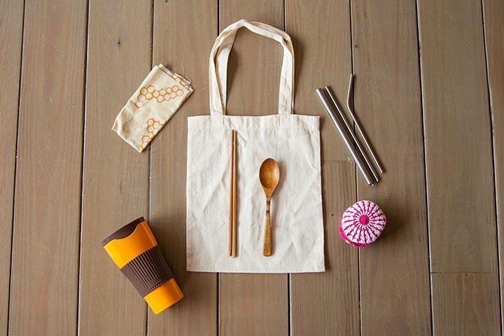 里仁推出淨塑商品「減塑包」,環保生活更簡單