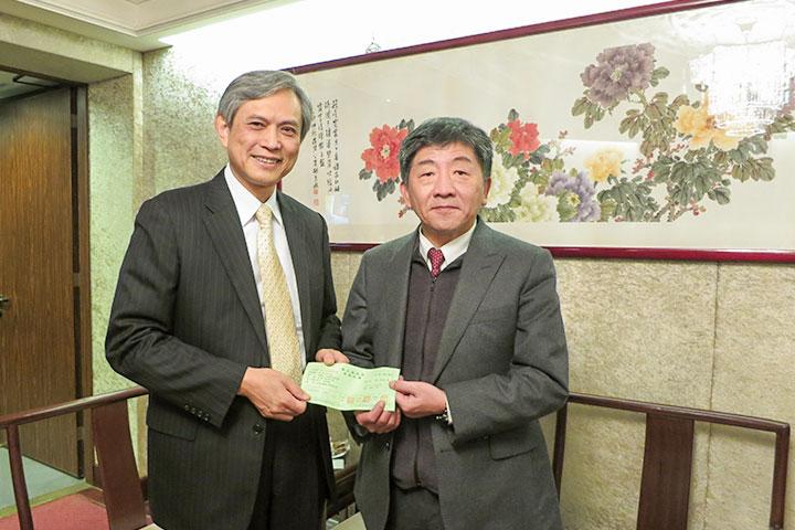 響應衛福部花蓮震災專案,福智慈善基金會捐款340萬元