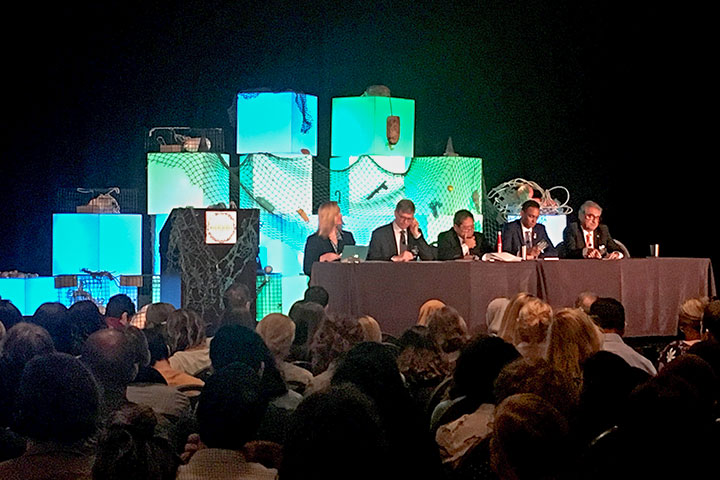 慈心與台灣環保團體代表及研究人員出席聯合國與美國主辦之「第六屆 國際海洋廢棄物研討會」
