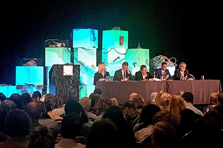 慈心與臺灣環保團體代表及研究人員出席聯合國與美國主辦之「第六屆 國際海洋廢棄物研討會」