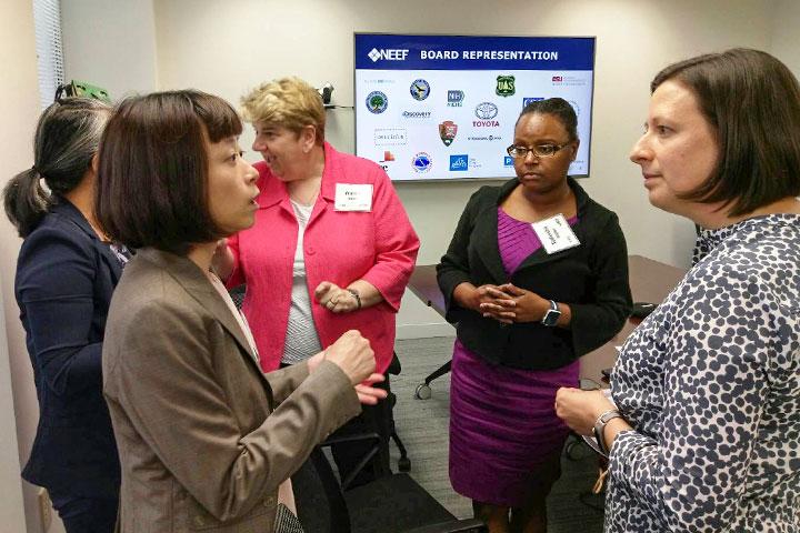 慈心基金會與NEEF交流淨塑經驗