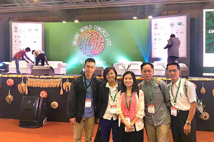 慈心基金會積極將臺灣有機經驗接軌國際,與各地專家學者進行交流