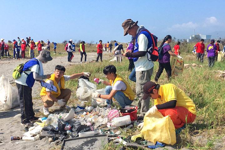 台東豐谷南路海灘淨灘