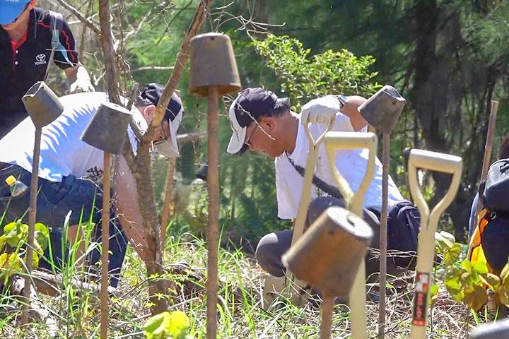 「種樹護地球」行動