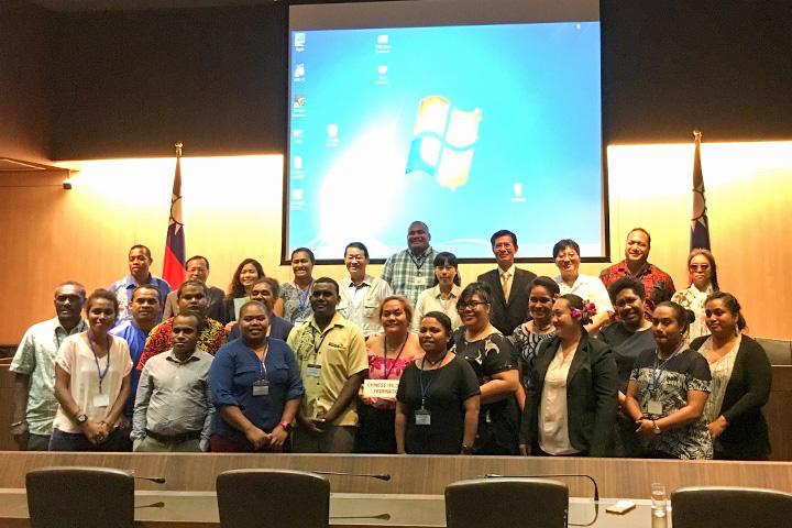 2018「太平洋島國青年領袖培訓計畫」大合照