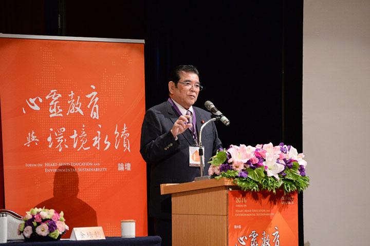 我的人生背景裡所擁有的武士道精神-日本眾議院前議員深谷隆司