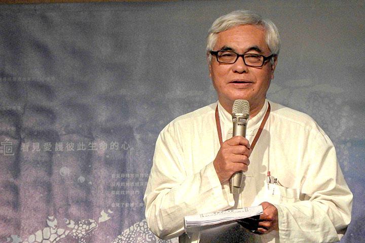 台中蓮社社長張式銘以「當代救傷野放護生案例分享」