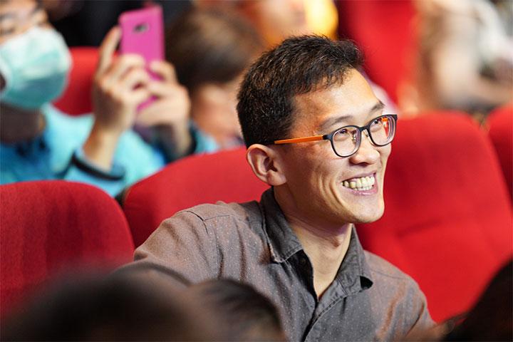 福智青年舉辦「美麗花季2018讚頌公益音樂會」,資助視障孩童