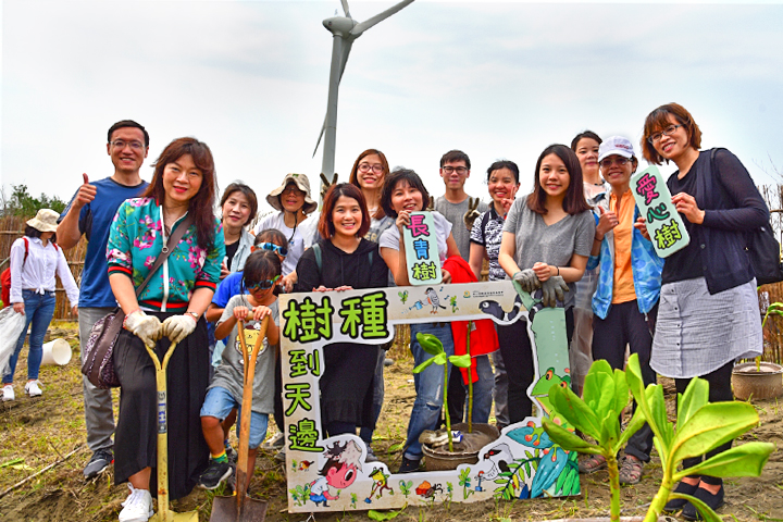慈心基金會攜手民間企業,用心管理種下的每一棵樹