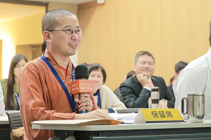 福智僧團月光國際譯經院副執行長如密法師
