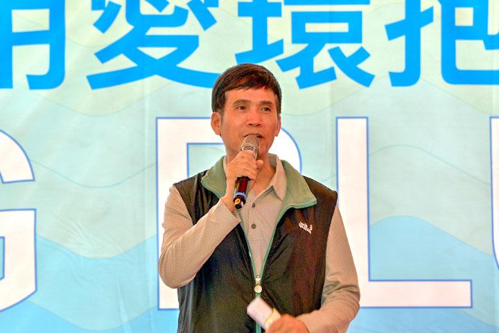 福智團體臺中學苑執行長王碧宏呼籲企業團體一同為潔淨海洋盡一份力量
