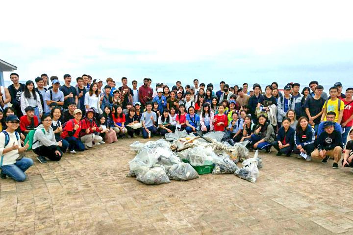 福智團體關切地球環境永續,結合生命教育內化學子價值觀