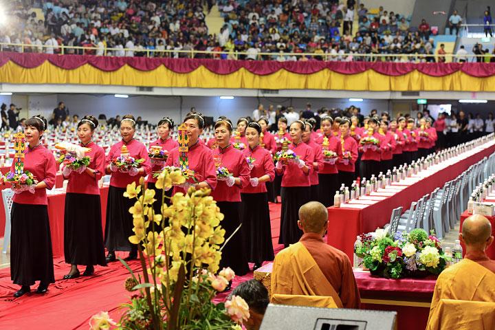 福智團體於雲林舉辦「2019供佛齋僧大法會」