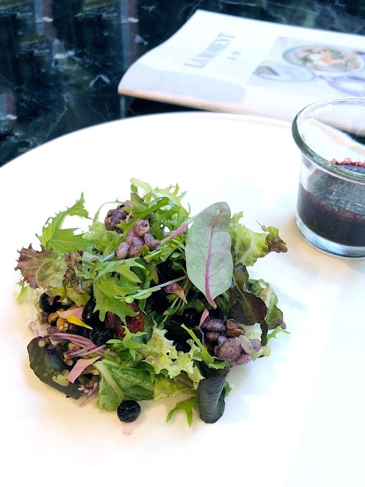 莓果季節食蔬佐藍莓油醋