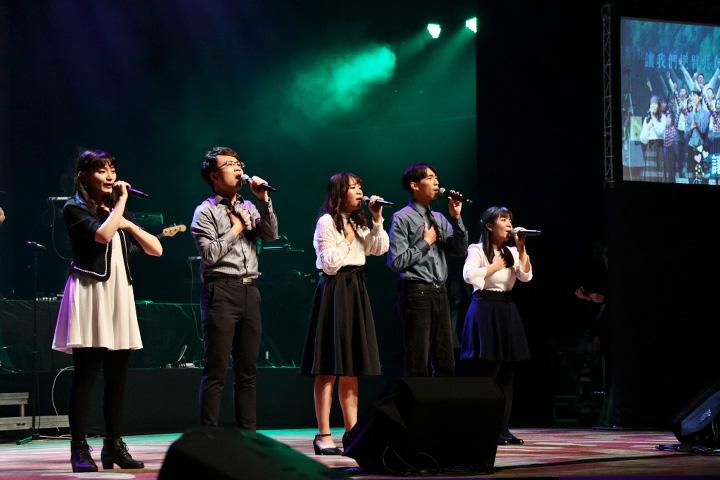 福智青年讚頌團演唱生命協奏曲