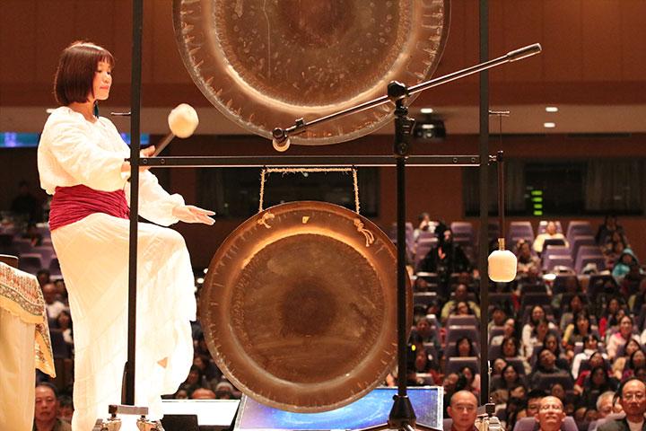 場次七/專題演講:銅鑼音療 聲波療癒——聽 銅鑼共振的心靈之音