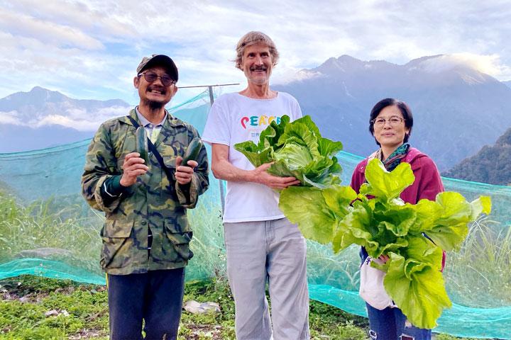 用蔬食醒覺心靈、創造和平!——2019塔托博士臺灣行(圖片來源/慈心有機農業發展基金會)
