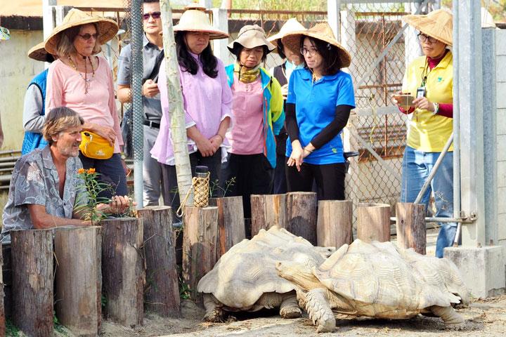 台南關廟護生園是博士看過第二個畜牧場改為護生園的例子。(圖片來源/慈心有機農業發展基金會)
