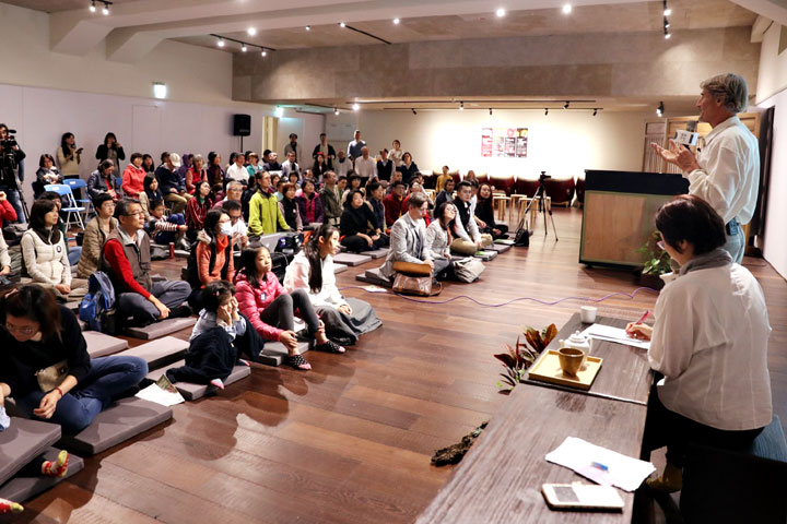 新竹道禾三代塾音樂演講會現場。(圖片來源/慈心有機農業發展基金會)