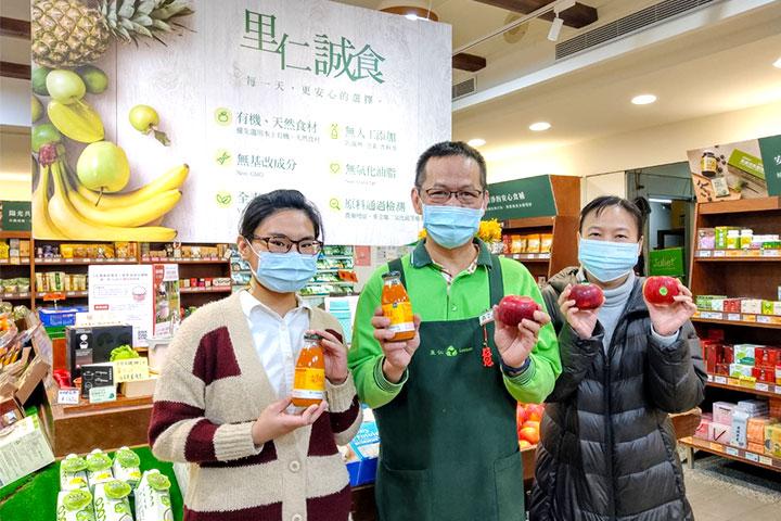 向防疫醫護致敬,里仁「你買我捐」號召數萬位消費者暖心參與