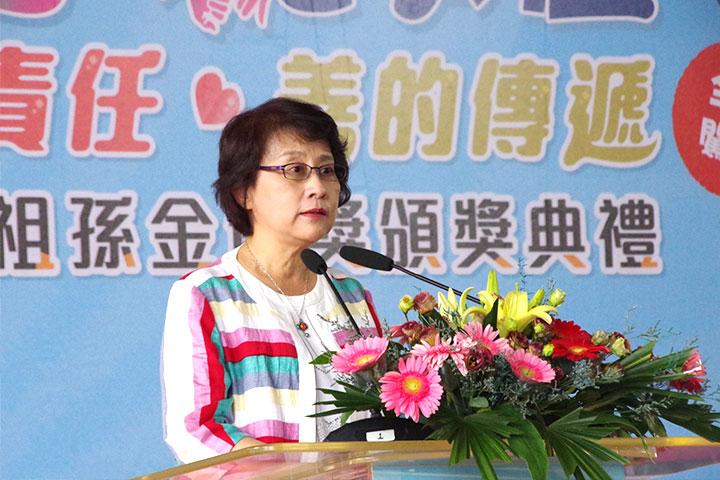 高雄市府副秘書長林淑娟於活動開場致詞