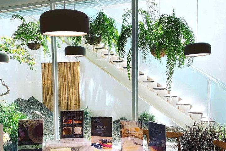 道禾店採用綠設計工法,除了重視建材選擇,也希望節能減碳。