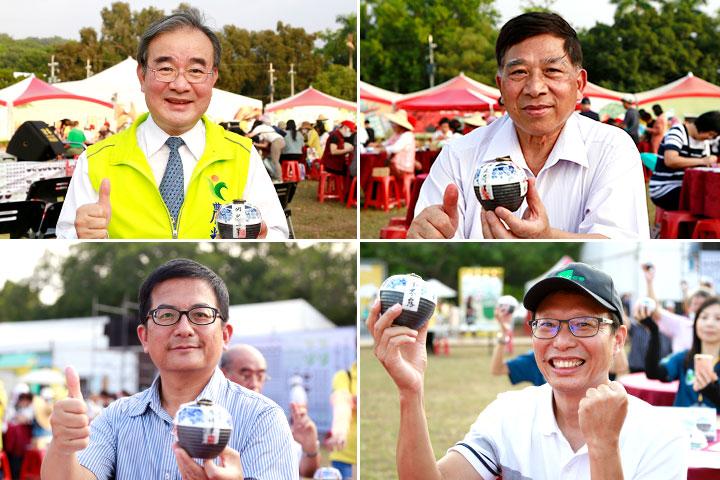 南投茶葉博覽會「有機茶封茶會」,慈心與民眾一同祝福世界