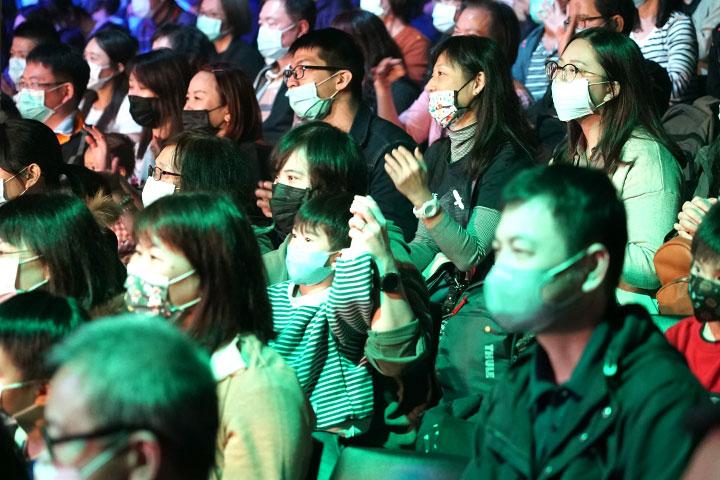 2020 日日尋常讚頌演唱會,福智青年為世界獻唱感恩與祝福