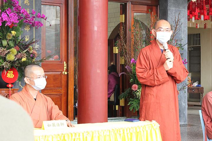 「2021福智青年寺院參訪」由福智文教基金會及福智僧團法師共同規畫