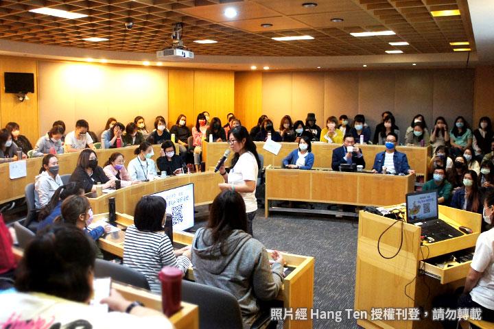 Hang Ten 邀請慈心基金會舉辦企業內部減塑講座,打造企業減塑文化