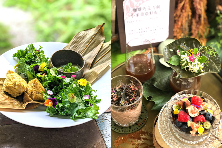 慈心有機農業發展基金會與全臺16家綠色餐廳合作,推出台東小米創意料理
